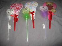 Heart Wrapped Pen Shaped Pad Paper Valentine's Day Holiday Write Gift
