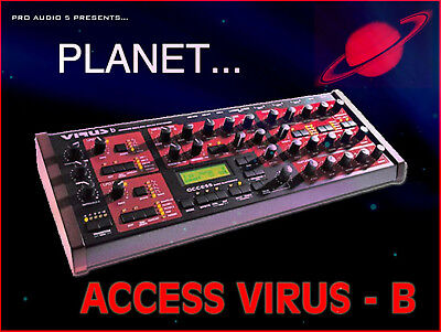 Over 1180 Samples Professional Sample CD Planet Access Virus B