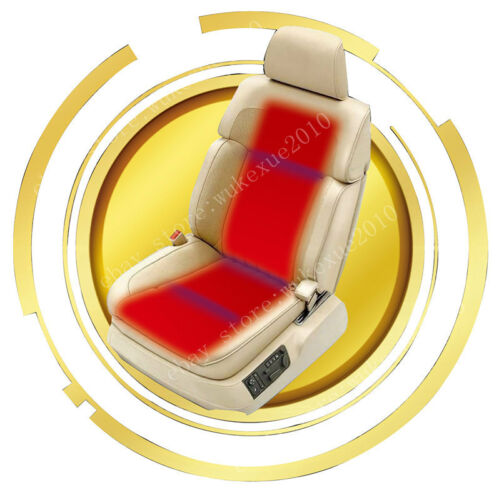 2 seat install,new round button 3-level switch seat heater,heated seat warmer UK