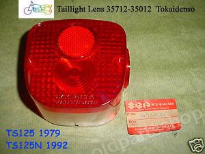 Taillight Tail Light Lens for Kawasaki KE100 KE175 KE125 KM100 Cover