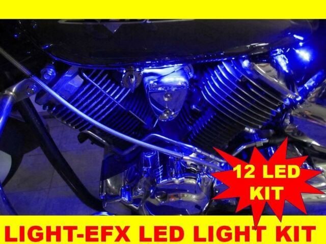 BLUE LED LIGHT STRIP KIT HARLEY DAVIDSON VRSCAW V-ROD VROD