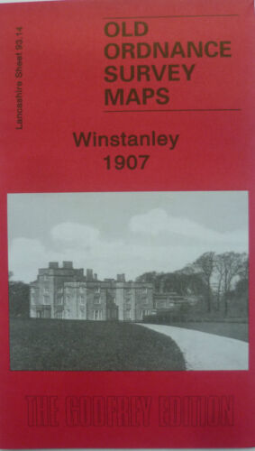 Old Ordnance Survey Detailed Maps Winstanley Lancashire 1907 Sheet 93.14 New