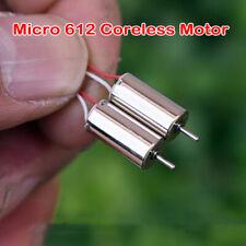 2PCS Micro 8520 NdFeB Hollow Cup Motor DC 3.7V 46000RPM High Speed Large Torque