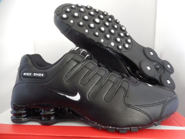 Nike Shox NZ EU Black white Men Size 9.5 501524 091 for sale online ... 4a903ca737ec