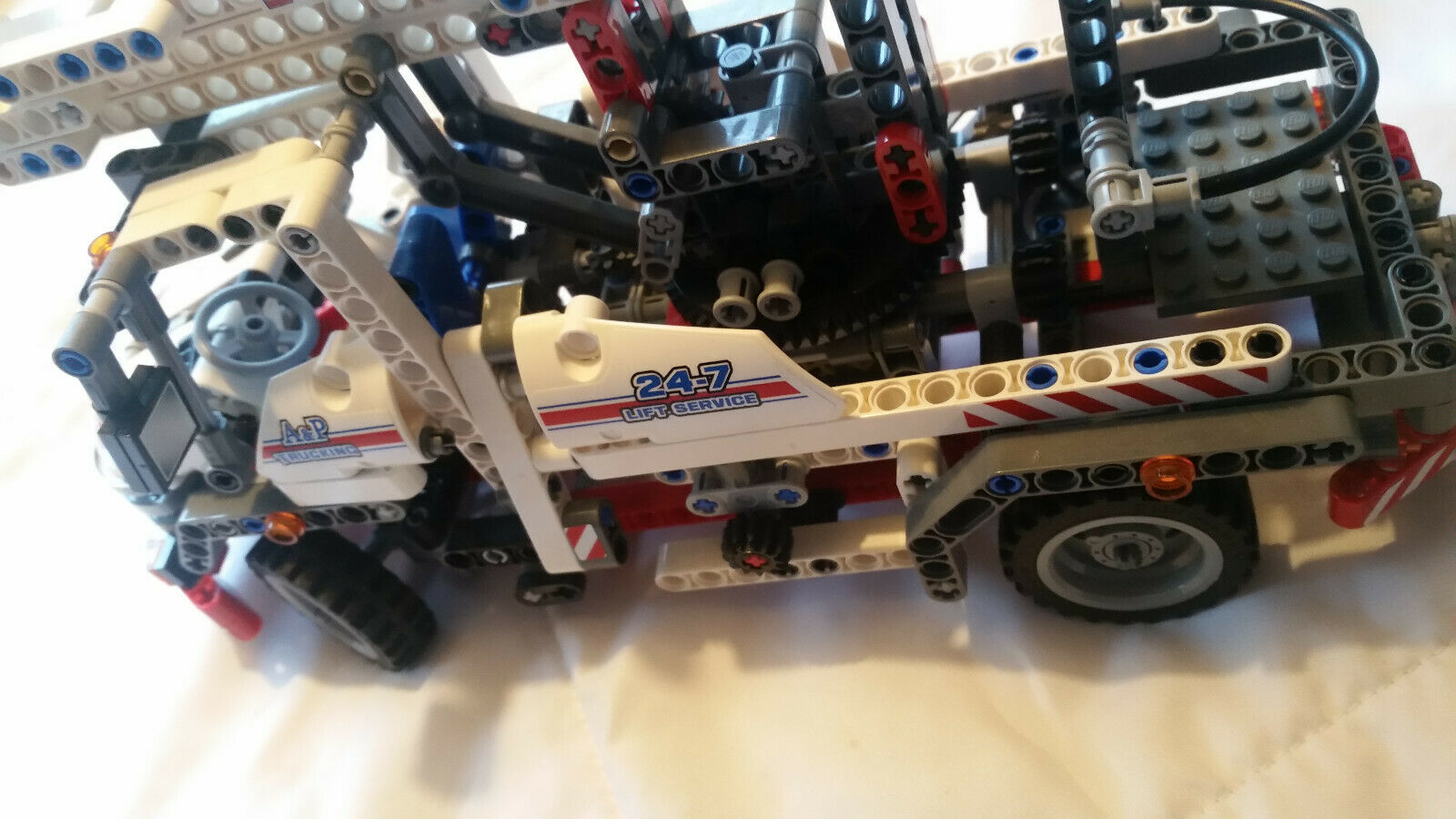 Lego Technic 8071 mit BL 100% komplett Service Truck Hebebühne