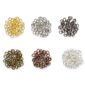 6-Colors-Oval-Open-Jump-Split-Rings-Connectors-Findings-Jewelry-Making-4-7mm
