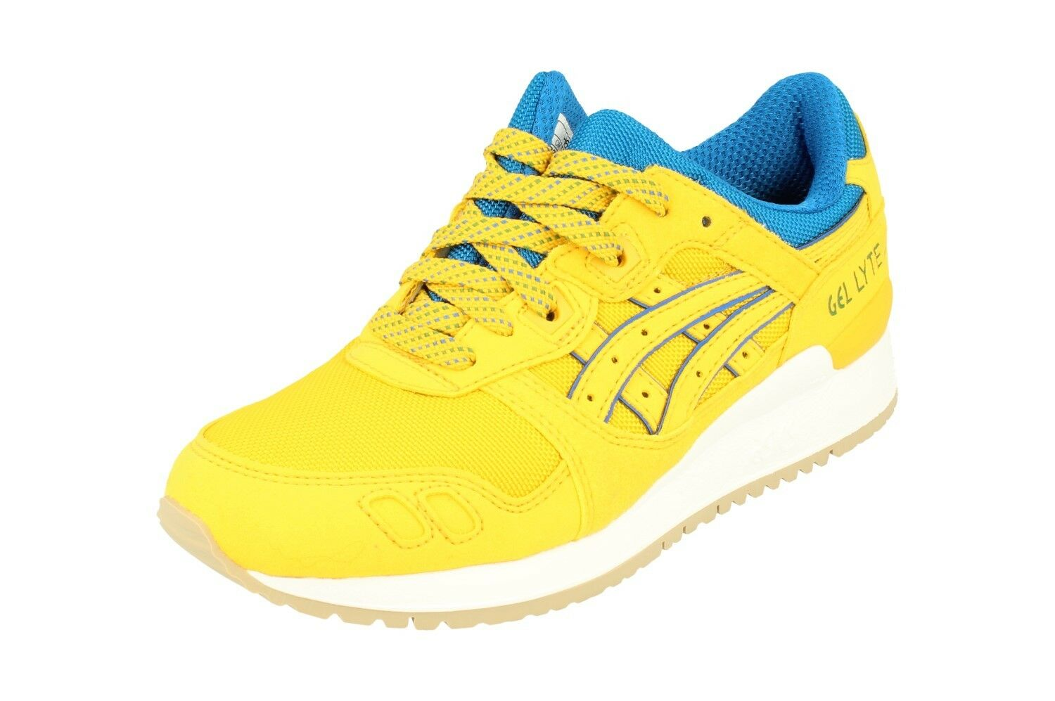 Asics Gel-Lyte Hombre Para Correr Tenis H6X1N 0404 III Tenis Zapatos