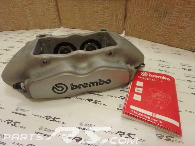 New GENUINE BREMBO caliper front R red Renault Sport Megane III RS 250 265 275 3