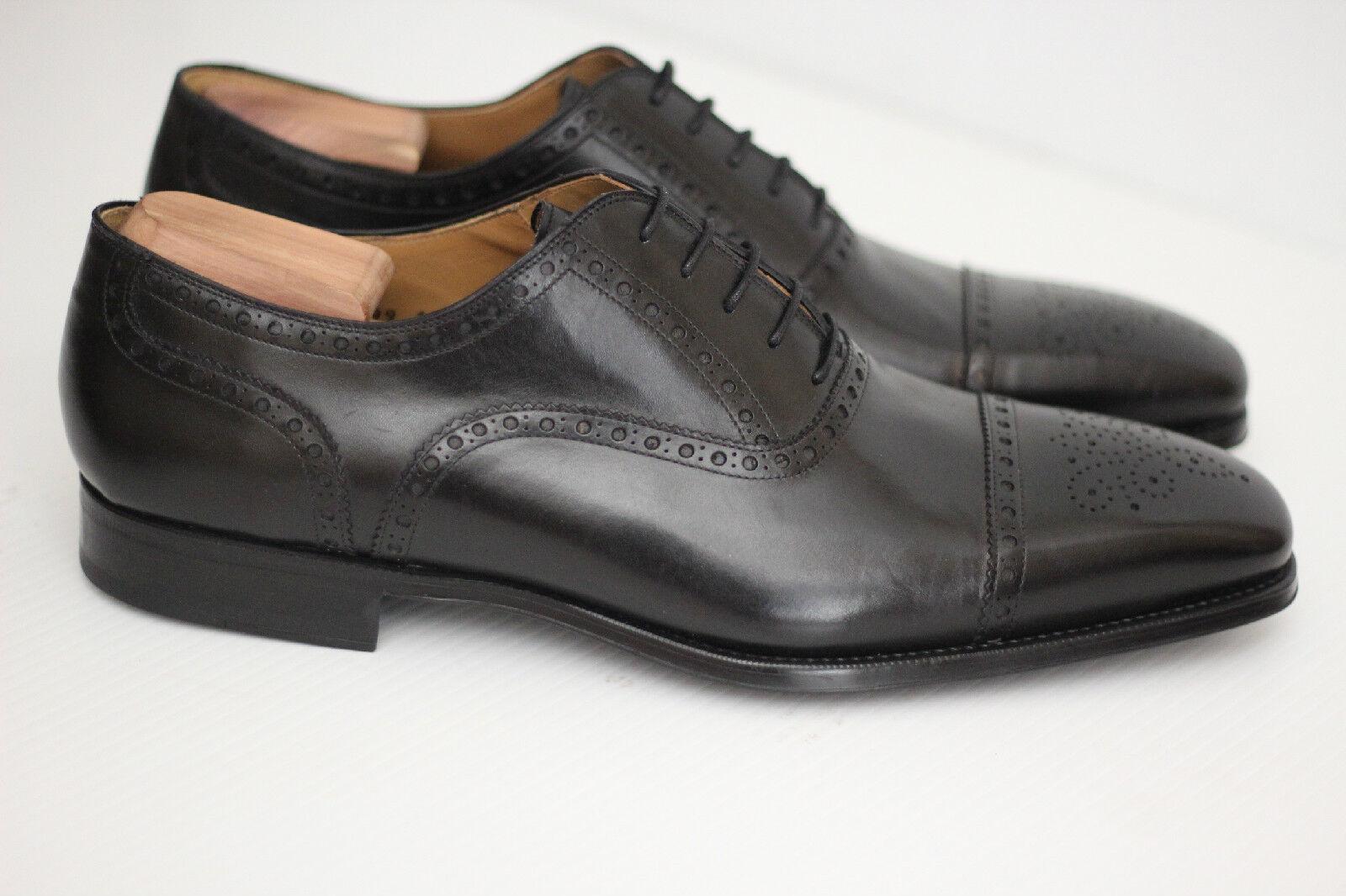 la migliore offerta del negozio online NEW Magnanni Cieza Semi Brogue Oxford - nero nero nero Leather - 15 M - 18399 (X44)  vendita online