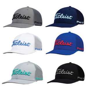e334e5df007 Titleist Golf 2019 Tour Snapback Mesh Collection Hat Cap - 6 Colors ...
