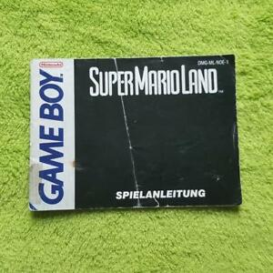 Gameboy-Super-Mario-Land-Instrucciones-Del-Juego-Manual-Manual-Folleto
