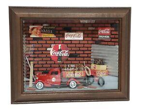 Coca-Cola-Shadowbox-1998-Vintage-Limited-Edition-11-100-Excellent-Condition