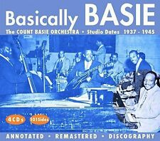 Basically Basie by Count Basie (CD, Aug-2005, 4 Discs, JSP (UK))