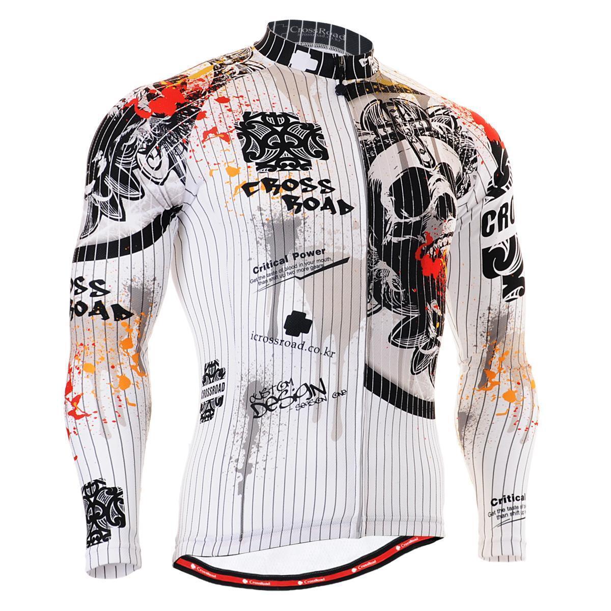 FIXGEAR CS-901 Men's Long Sleeve Cycling Jersey  Bicycle Apparel Roadbike MTB  order online