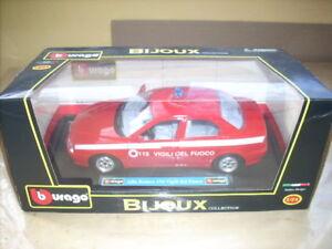 BURAGO-BIJOUX-ALFA-ROMEO-156-VIGILI-DEL-FUOCO