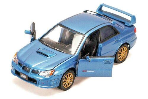 Showcast Subaru Impreza WRX STI Die-cast Car 1:24 Scale Motormax 7.5 inch BLUE