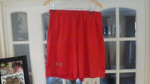 UNDER ARMOUR Men Running Exercise Red Loose Shorts size 30034 -  London, United Kingdom - UNDER ARMOUR Men Running Exercise Red Loose Shorts size 30034 -  London, United Kingdom