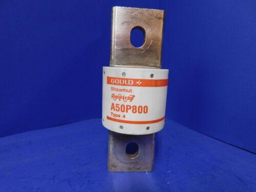 Gould Shawmut Amptrap A50P800 Type 4 800 Amp 500 VAC Fuse