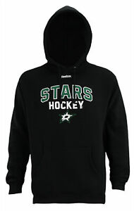 Reebok NHL Men s Dallas Stars Logo Crest Basic Pullover Fleece ... ee12beb44