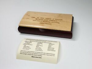 Mikutowski-Woodworking-Box-Birdseye-Maple-5-1-2-034-Einstein-Quote