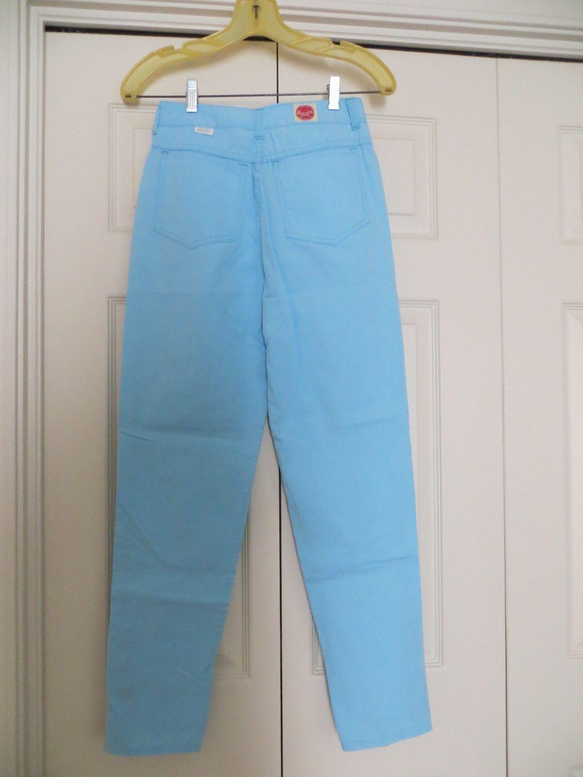 womans skinny jeans pants blue cotton 31/28 Chemi… - image 4
