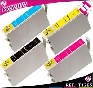 PACK-TINTA-T1291-T1292-T1293-T1294-XL-COMPATIBLE-IMPRESORA-CARTUCHO-NONOEM-T1295