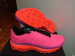 low priced 66b16 2f858 Details about Men's New Nike Air Max 97/Plus Pink Hyper Magenta AH8144-600  Size 9