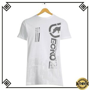 ECKO-UNTLD-AUTHENTIC-MEN-039-S-CREW-NECK-SHORT-SLEEVE-WHITE-T-SHIRT-SIZE-L-70264