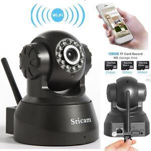 Wireless WIFI Pan Tilt 720P Security Surveillance IP Camera Night Vision Webcam