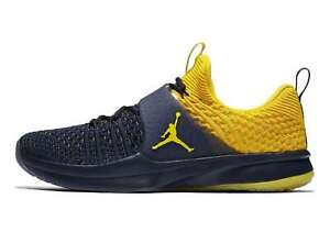 Jordan-Homme-Trainer-2-Flyknit-Low-Top-Lacets-Running-Baskets