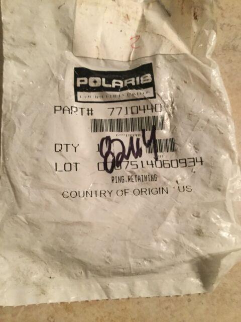 Polaris sportsman RZR retaining ring new 7710440