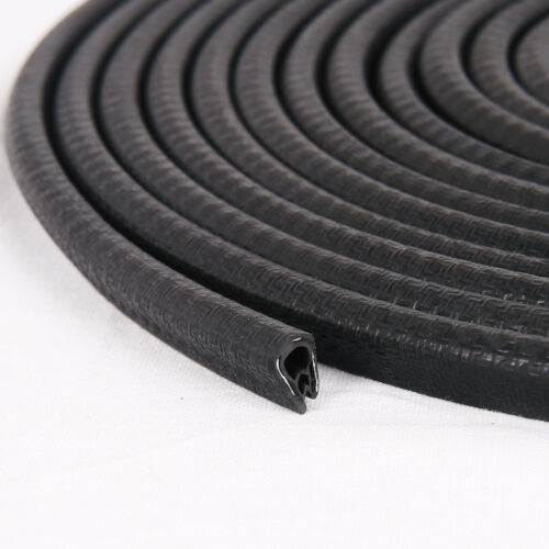 New 5m Rubber Car Door Boot Edge Protector Strip Trim Weather Seal Strip U Shape