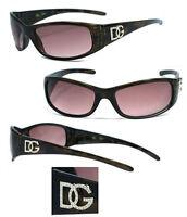 Dg Womens Wrap Around Fit Perfect Eyewear Designer Sunglasses - Brown Dg83nl