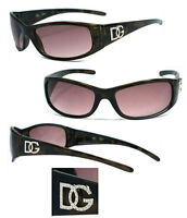 Dg Womens Wrap Around Fit Perfect Eyewear Designer Sunglasses - Brown Dg83nl