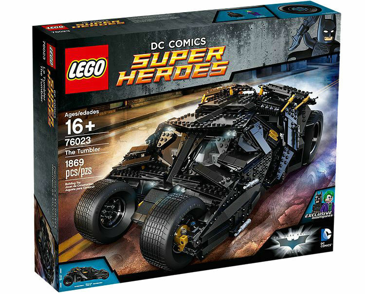LEGO 76023 DC Comics Super Heroes The Tumbler - New - Unopened Sealed Box