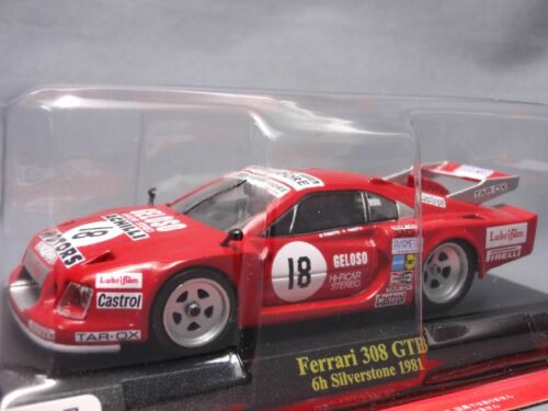 Ferrari Collection F1 308 GTB Silverstone 1/43 Scale Mini Car Display Diecast