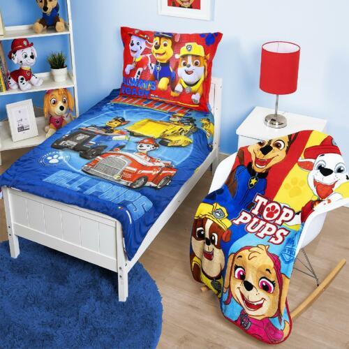 Blanket Set Kids Children Bed Sheet Gift PAW Patrol Toddler 5 Piece Bedding