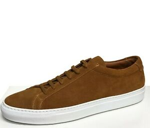 Common-Projects-Men-039-s-Sneakers-Size-10-43-Tan-Or-Achilles-Suede-New