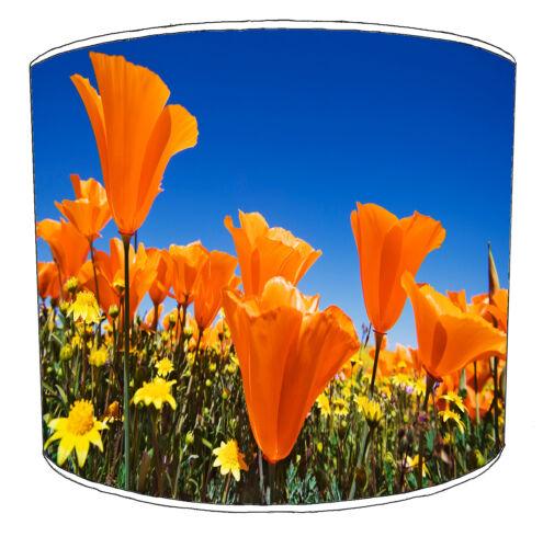 Poppy Lampshades Ideal To Match Poppy Cushions Poppy Duvets /& Poppy Curtains.