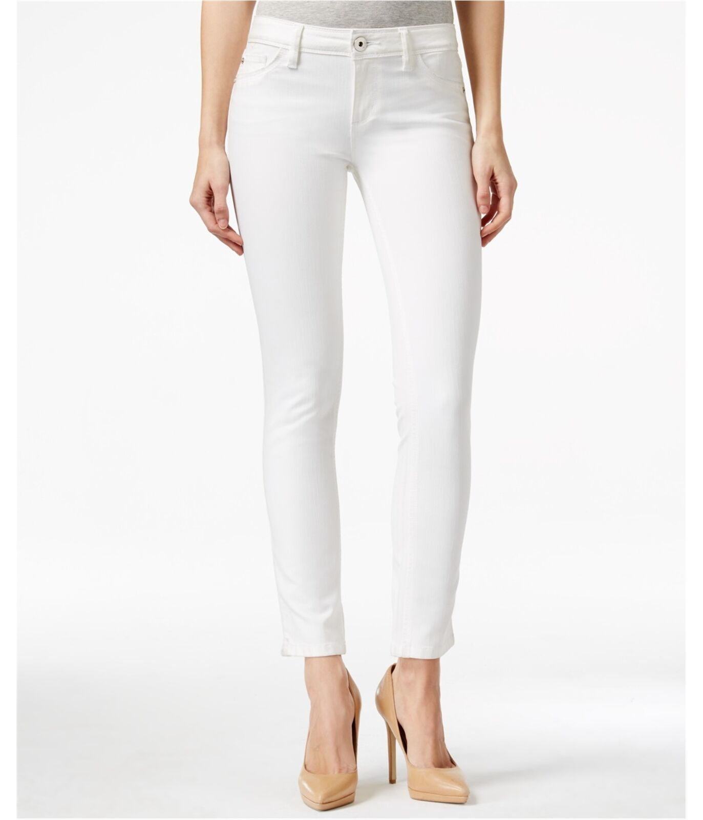 DL1961 Womens Angel Skinny Fit Jeans milk 29x29