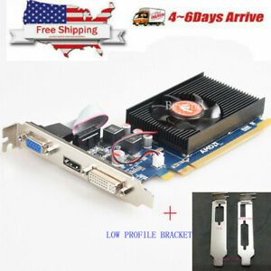NEW-AMD-ATI-Radeon-HD-7450-2GB-VGA-HDMI-DVI-PCIe-x16-Video-Card-US-Fast-Shipping