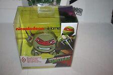 iHome Teenage Mutant Ninja Turtles Bluetooth Portable Speaker Rechargeable NEW