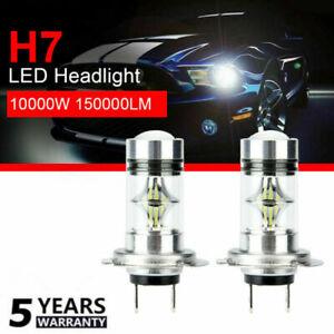 2X-110W-H7-LED-Headlight-CSP-Chip-Bulb-Kit-Canbus-Error-Free-30000LM-White-6000K