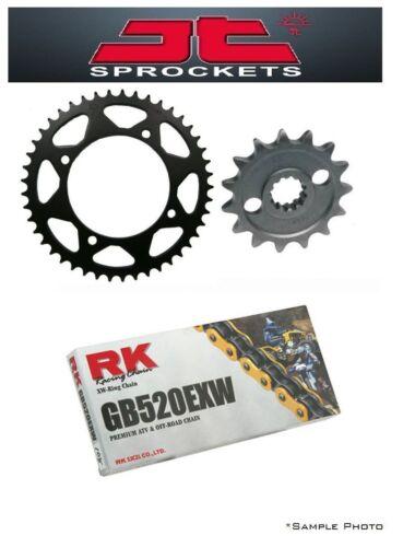 Husqvarna 650 TR Terra 13-14 JT//RK 520EXW X-ring Gold Chain and Sprocket Kit