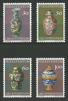 Postfrisch/schatzkammer Des Fürstenhauses Modische Und Attraktive Pakete 1974 Intelligent Liechtenstein Mi.nr 602-605**