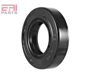 EAI Metric Oil Shaft Seal 16X30X7mm Dust Grease Seal TC Double Lip w// Spring