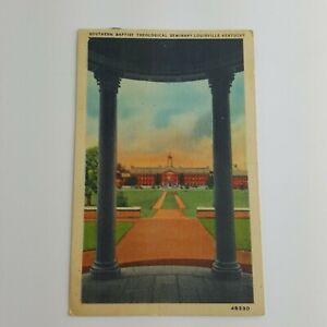 Southern-Baptist-Theological-Seminary-Louisville-Kentucky-Vtg-Postcard-Litho