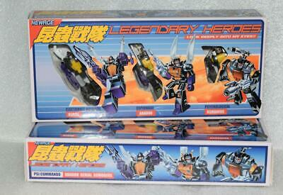 NewAge Toys Transformers The Legendary Heroes NA H10 H11 Insecticon MISB H12