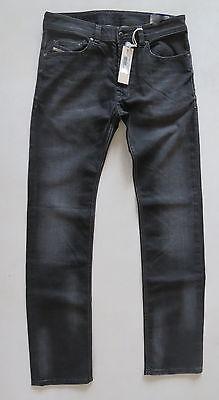 Diesel Men Jeans 38 W x 32 Safado 0822R Regular Slim Straight New with Tags