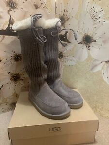 Like new UGG Maddie shearling boots